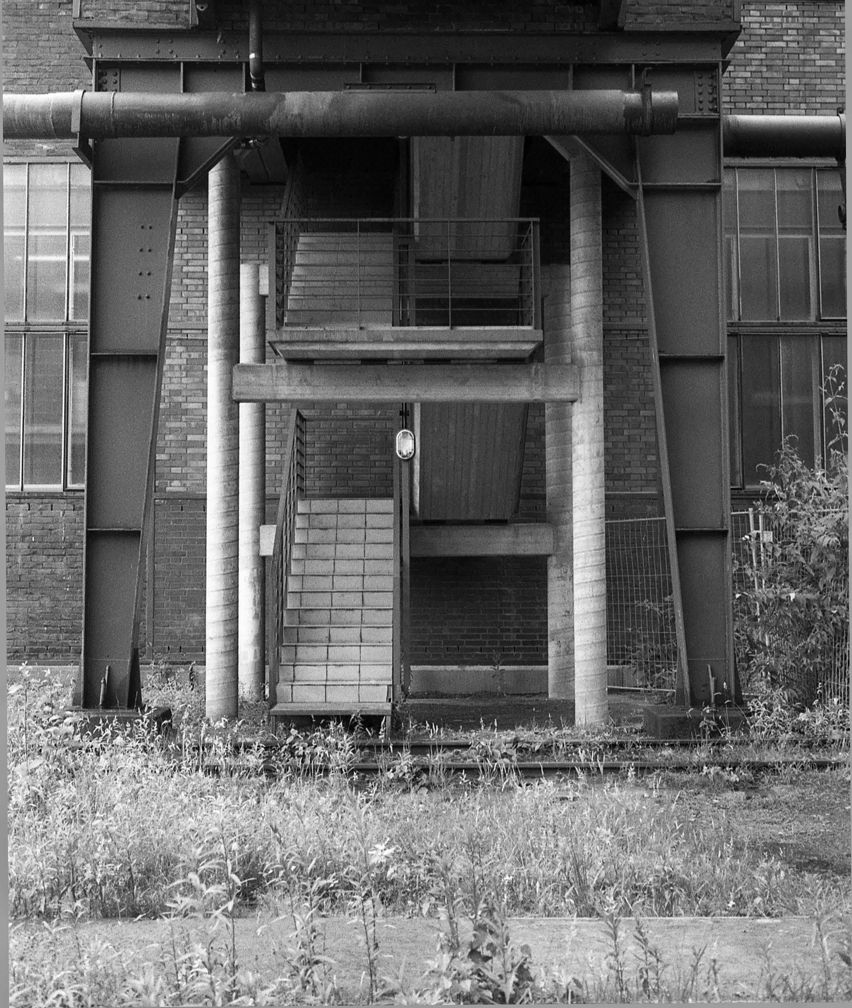 Kokerei Zollverein staircase - Essen, Germany - 2001