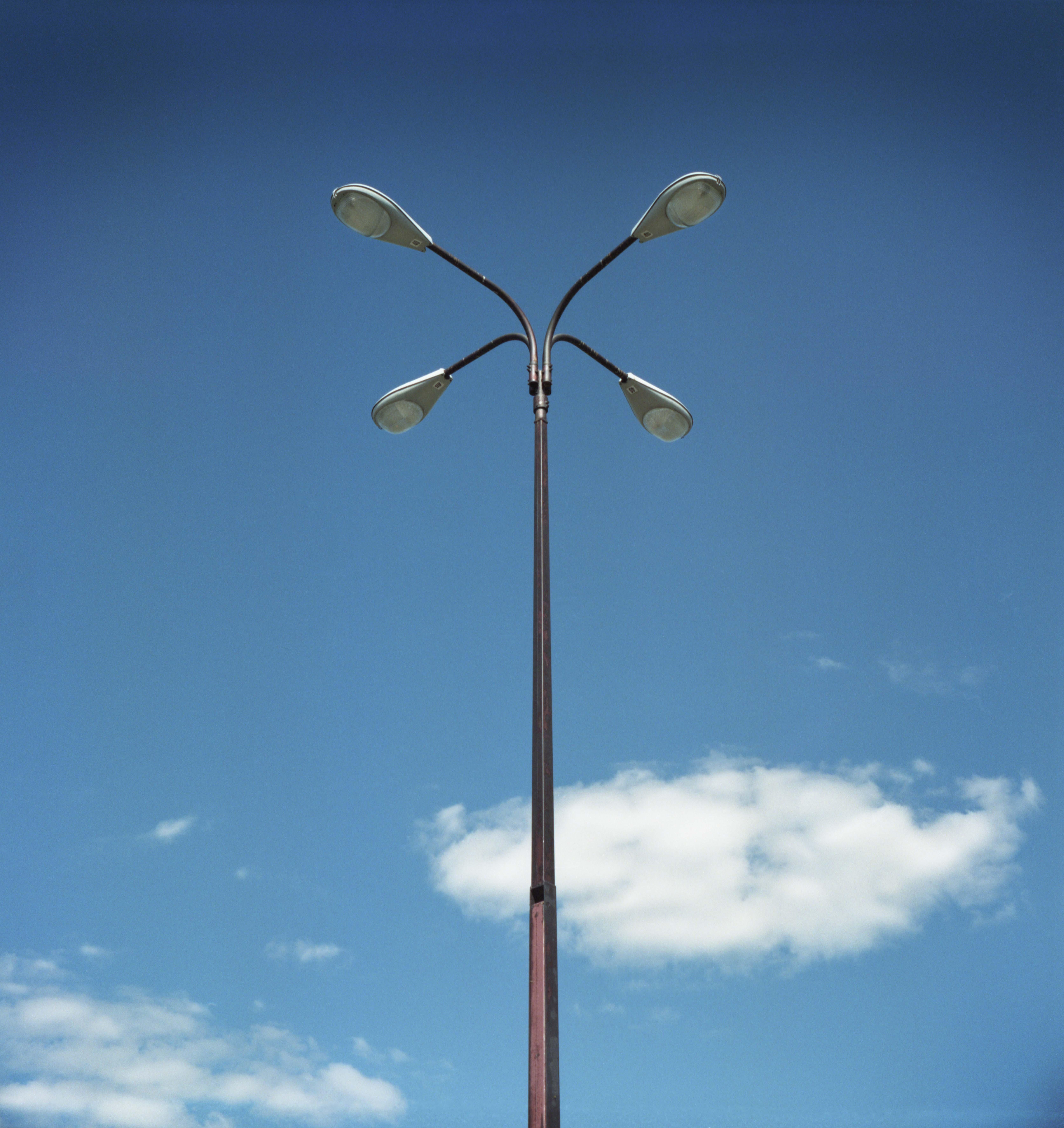 Spaulding Fibre Lamp - Tonawanda, New York - 2001