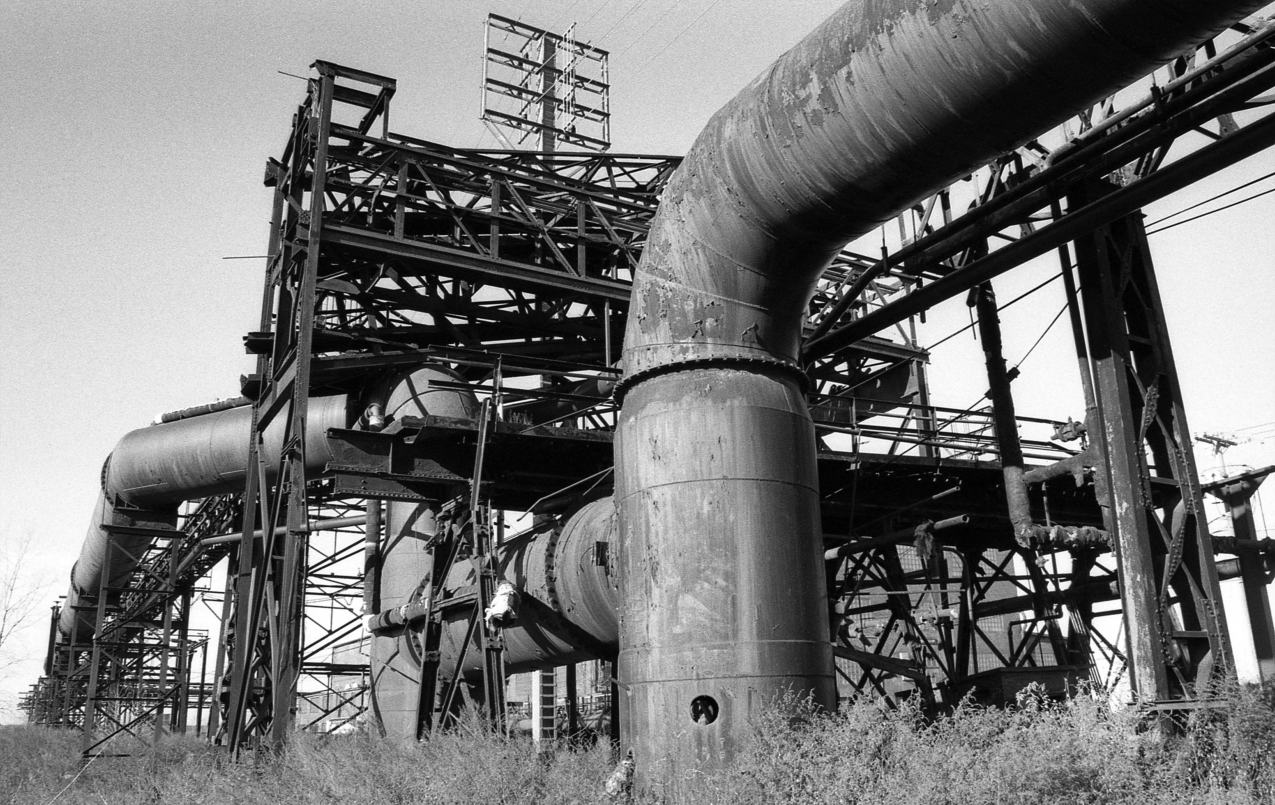Bethlehem Steel Pipes - Lackawanna, New York - 2010