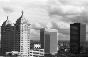 Skyline - Buffalo, New York - 1988