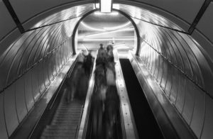 Metro Station - Buffalo, New York - 1989