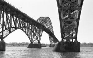 Grand Island Bridge - Tonawanda, New York - 1989