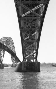Grand Island Bridge - Tonawanda, New York - 1989